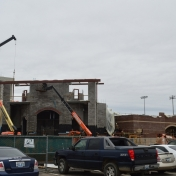 Construction of Earle Combs Stadium 01-19-17
