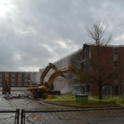 Martin Hall - First day of demo 02-08-16