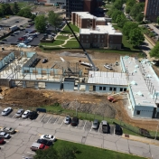 New Hall B Construction as of 05-13-16