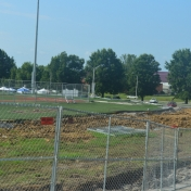 Construction of Earle Combs Stadium 7-14-16