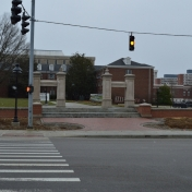 View of Turner Gate from Grand Campus entrance March 3, 2016
