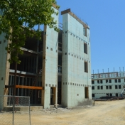 New Hall B Construction as of 07-21-16