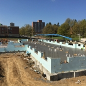 New Hall B Construction as of 04-15-16