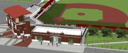 Rendering of the new Earl Combs Stadium